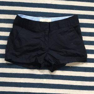 J.Crew Navy Chino Shorts